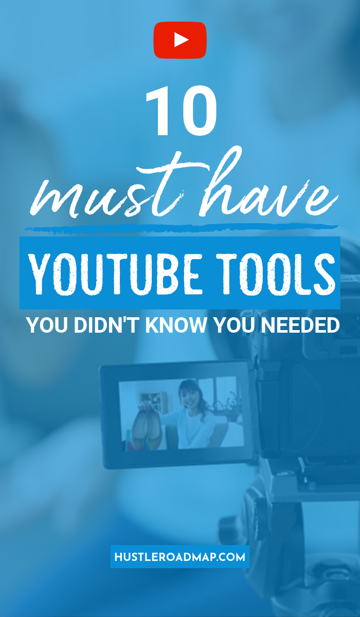 Must Have YouTube Tools You Didn't Know You Needed, Free and low cost resources and tips for YouTubers #YouTube #YouTubemarketing #YouTubeTips #Youtuber #YouTubevideos