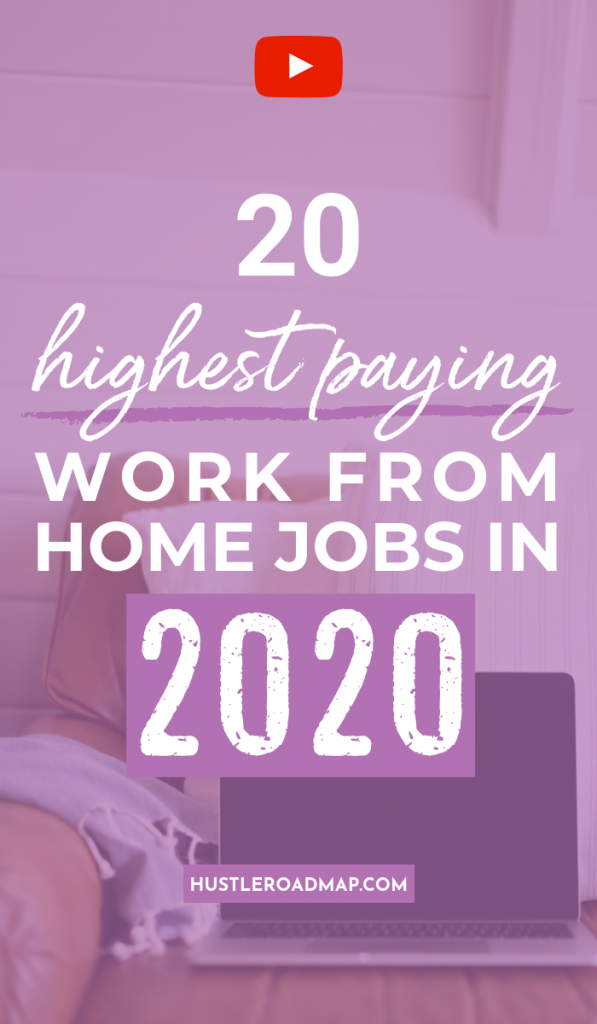 Highest Paying Work-From-Home Jobs in 2020, legitimate work at home jobs, no experience #workathomejobs #workfromhome #onlinejobs #sidehustles #makemoney #makemoneyonline #stayathomemom #momjobs #makemoneyfast #howtomakemoney