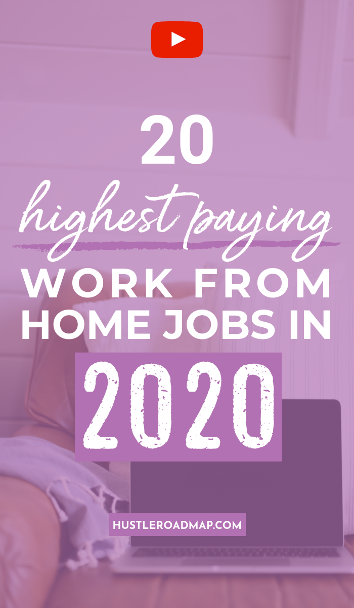 Work At Home Jobs 2020.20 Highest Paying Work From Home Jobs In 2020